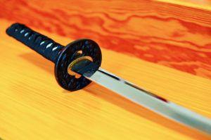 日本刀の各部位の名称